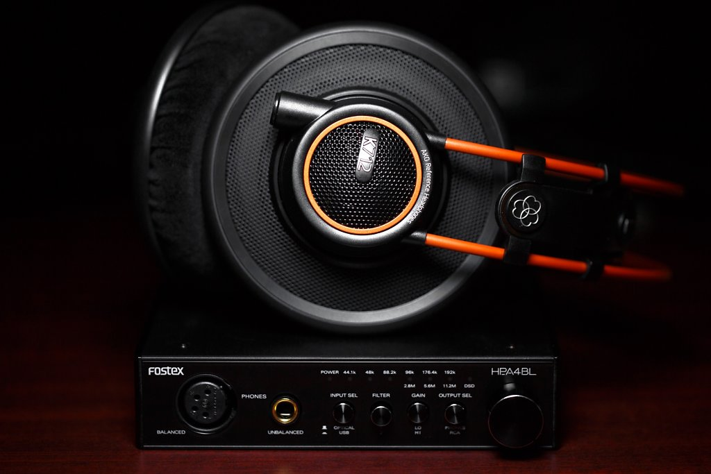 AKG K712 Pro & Fostex HP-A4BL